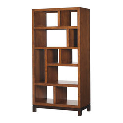 Lexington - Lexington Ocean Club Tradewinds Bookcase Etagere 536-991 - Ideal as a bookcase for those who love to intersperse treasures, picture frames, or finds, with the ten shelves and open back inviting personalization. Also perfect as room divider, thus creating intimate nooks without barriers.