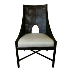 SOLD OUT!  McGuire By Barbara Barry Chairs -Pair! - $3,200 Est. Retail - $1,850 -