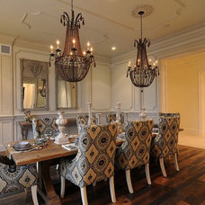 Traditional Dining Room by Volterra Architectural Products
