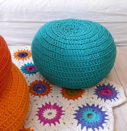 Eclectic Footstools And Ottomans by Etsy