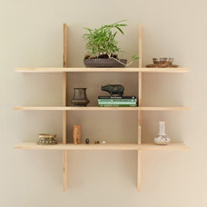 Modern Wall Shelves by Are Naturals