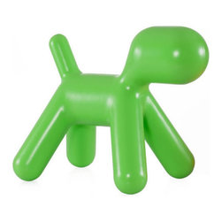 Zuo Modern - Zuo Pup Chair in Green - Pup Chair in Green by Zuo Modern Surprise children with a puppy without worry about allergies! The polypropylene-based Pup kid's chair is built for rough handling and hours of fun. Chair (1)