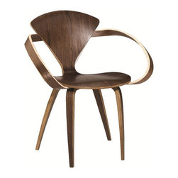 Fine Mod Imports - Modern Plywood Dining Armchair - Features: