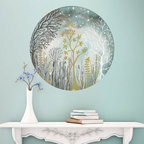 My Wonderful Walls - The Midsummer Triangle Wall Decal - Ethereal Art by Elise Mahan, Large - - Product:   summer solstice wall decal