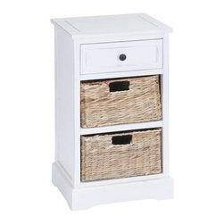 """Benzara - Classic Wood Basket Cabinet Brandishing Fine Detailing - Classic Wood Basket Cabinet Brandishing Fine Detailing. Neat and smart in looks, this cabinet brandishes fine detailing and is constructed by ace craftsmen. It comes and a following dimensions 16""""W x 13""""D x 28""""H."""