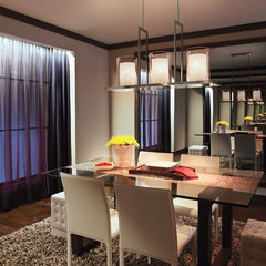 modern chandeliers by Kichler
