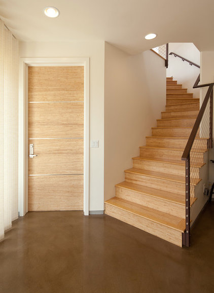 Contemporary Interior Doors by Green Goods