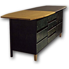 contemporary kitchen islands and kitchen carts by Mary & Hank Prekop