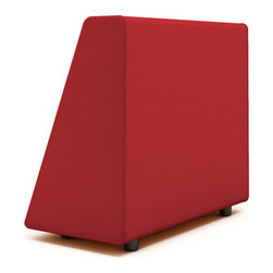 Turnstone - Steelcase - Campfire Wedge Red - Wedge on, wedge off.
