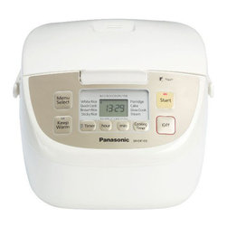 """Panasonic Consumer - 10-Cup Rice Cooker Steamer - Micro """"Fuzzy Logic"""" Rice Cooker with 10 Cup (cooked) Capacity"""