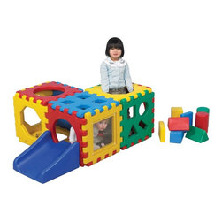 Childrens Factory - Children's Factory Snap Junior Village Play Cubes Multicolor - 1178 - Shop for Gyms and Play Mats from Hayneedle.com! About The Children's Factory Kirkwood Mo 1982 - The Childrn's Factory was created in the attic of its founders. Their vision was to create a soft play environment where children could play safely. They started with a basic 3D animal shape perfectly sized for a young child. From there other products were developed and the company quickly grew in size. Soft safe creative play is their passion. Their products are designed towards ASTM standards and their materials meet or exceed the CPSIA requirements.