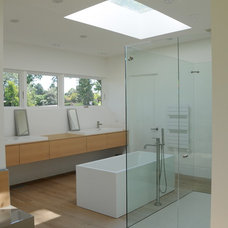 Midcentury Bathroom by Nest Architectural Design, Inc.