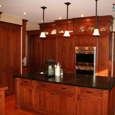 Traditional Kitchen Cabinetry by Anliker Custom Wood, Ltd