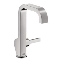 Axor - Axor | Citterio Deck-Mount Side-Handle Tall Faucet - Design by Antonio Citterio.