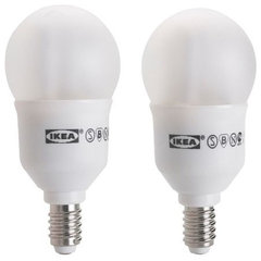 modern light bulbs by IKEA
