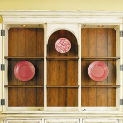 Hooker Furniture - Hooker Furniture Summerglen 64-inch Triple Arch Hutch (C) 479-75-901 - Reversible back panel