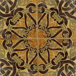 Patterson Encaustic ~ Filmore Clark - Patterson Encaustic tile adds unique beauty to any installation whether indoors or out. Choose from 4 clay bodies and 22 inlay colors to create an original installation.