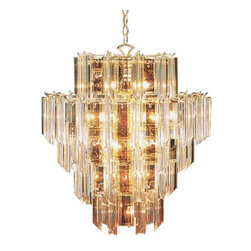 Trans Globe Lighting - Trans Globe Lighting 7166 PB Chandelier In Polished Brass - Part Number: 7166 PB