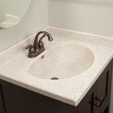 Traditional Vanity Tops And Side Splashes by Imperial Marble Corporation