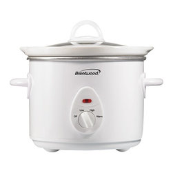 BRENTWOOD - Brentwood SC-135W 3-Quart Slow Cooker (White) - 200W