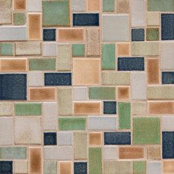 Savvy Squares - Savvy Squares - 822 Mocha Cream, 815W Light Grey, 123R Patina, 42 Olive, 1013 Denim