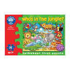 "The Original Toy Company - The Original Toy Company Kids Children Play Who's in the Jungle - This colorful jungle puzzle includes an activity guide to help encourage your child's development. Ages 3 years plus. Puzzle size: 16.5""x 12"" 25 pieces. Made in England."