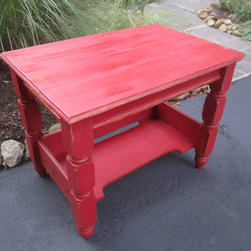 Refinished and repurposed -