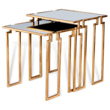 Contemporary Side Tables And End Tables by Kathy Kuo Home