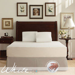 WHITE by Sarah Peyton Home Collection - WHITE by Sarah Peyton 10-inch Traditional Firm Support Twin-size Memory Foam Mat - The 10-inch Memory Foam Traditional Firm Support Mattress is perfect for those who want the benefits of memory foam but with extra support. Designed and developed by a US based company,this mattress is a part of the new WHITE by Sarah Peyton collection.