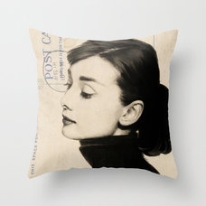 Eclectic Decorative Pillows by Society6