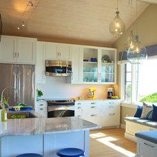 Eclectic Kitchen by Kristina Crestin Design
