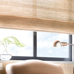 Natural Woven-to-Size Grassweave Windowcoverings - LE1421 Calcite