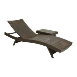 Wicker Multi-brown Outdoor Adjustable Lounges and Table - Customize the decor of your patio backyard terrace or lawn with the Wicker Multi-brown Outdoor Adjustable Lounges and Table. The lounge chairs and table of this set complement each other and you sense of style. You can lay back and relax on the loungers while keeping your refreshments handy on the table. Well-suited for outdoor use this set features durable construction of weather-resistant and UV-protected PE wicker. For maximum comfort the loungers feature adjustable back. About Best Selling Home Decor Furniture LLCBest Selling Home Decor Furniture LLC is a US-based company dedicated to providing you with a wide variety of fine furniture. With sales and manufacturing offices in Europe and China as well as the ability to ship to anywhere in the world no one is excluded from bringing these lovely pieces home. From outdoor to indoor furniture children's furniture to ottomans and home accessories all your needs will be met with attractive high quality products that will last.