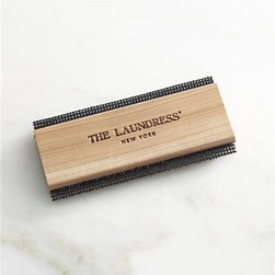 The Laundress® Sweater Comb - Take a new view of garment care with our smarter solutions from the experts at The Laundress®. Cedar comb with specialized metal mesh extends the lives of sweaters and other fine woolens, restoring fibers while reducing costly and chemical dry cleaning. Simply pull the comb across taut garments or furnishings to make pilling, lint and fuzz a thing of the past.