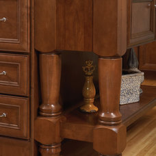 Traditional Kitchen Islands And Kitchen Carts by Wellborn Cabinet, Inc.