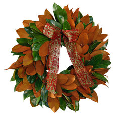 Traditional Wreaths And Garlands by Creekside Farms