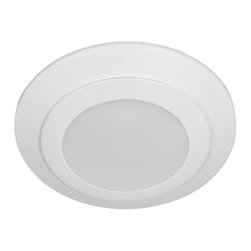 """Sea Gull Lighting - Sea Gull Lighting 14601S-15 Traverse 4"""" LED 3000K Retrofit Recessed Light - The 4"""" Traverse LED Downlight delivers the performance of incandescent downlights while reducing energy and operating cost by 80% and requiring virtually no maintenance. Ideal for general lighting in residential and commercial applications, the damp rated Traverse can be used for shower applications as well. The Traverse LED downlight is also an excellent alternative to costly fire rated recessed housings."""