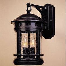 "Designers Fountain 2381-ORB 3 Light 9"" Cast Aluminum Wall Lantern from the Sedon"