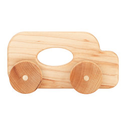 Tree Hopper Toys - Hopper Jalopy - Coach - Kids and parents love the sights, sounds, and feel of these timeless Hopper Jalopies. Each Jalopy is a perfect fit for tiny hands, super smooth and lightly finished with an organic beeswax blend, allowing parents peace of mind while their kids shake, rattle, and roll to their heart's content!