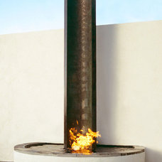 Modern Outdoor Fountains by Water Studio