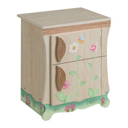 Teamson Design - Teamson Kids Enchanted Forest Kitchen - Fridge - Teamson Design - Kitchens - W9649A. The Teamson Kids Enchanted Forest fridge is perfect for any child that wants to learn and play chef. Let your child's imagination run wild and facilitate some creative play with this beautiful hand painted forest fridge!