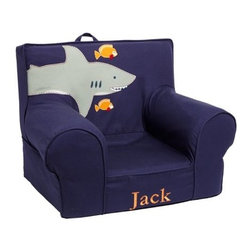 Shark Anywhere Chair - A shark anywhere chair would be the perfect reading spot for kids!