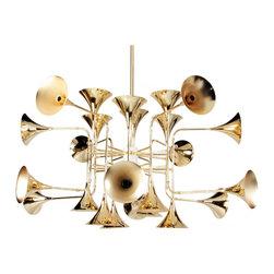 Modernist Horn Pendant Lamp - Modernist Horn Pendant Lamp