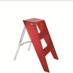 Kartell - Upper Step Ladder - Quick Ship | Kartell - Design by Alberto Meda with Paolo Rizzatto, 2000.