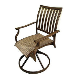 Panama Jack Island Breeze Swivel Dining Chair, Set of 2
