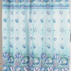 Other Brands - Carnation Home Fashions Oceanic Sea Shell and Fish Shower Fabric Curtain Multico - Shop for Shower Curtains from Hayneedle.com! Bring the ocean home with the Carnation Home Fashions Oceanic Sea Shell and Fish Shower Fabric Curtain. Filled with shells and fish in soft blues and greens this shower curtain is a delight. It is made of machine-washable polyester fabric for beauty that lasts.About Carnation Home FashionsYour home your style Carnation Home Fashions believes in this motto. That s why this home fashions company offers a wide range of on-trend and classic products designed for style and convenience. Perfect for matching today s busy lifestyles their bath products meet your needs in style. Carnation Home Fashions is based in Newburgh New York.