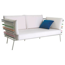modern outdoor sofas by Flodeau