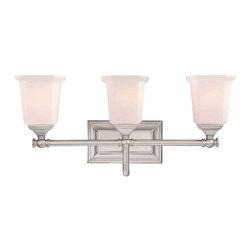 Quoizel Lighting - Quoizel NL8603 Nicholas 3 Light Vanity - 3, 100W A19 Medium