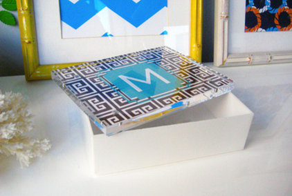 Contemporary Decorative Boxes by dabney lee AT HOME