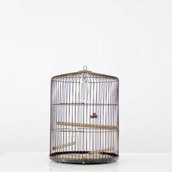 SOLD - Modern Birdcage - Vintage Bird Cage